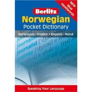 Norwegian Pocket Dictionary (Berlitz Pocket Dictionary) (English and
