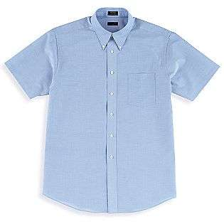 Short Sleeve Oxford Cloth Shirt  Covington Clothing Mens Shirts