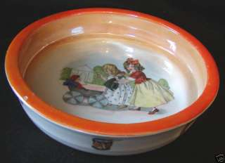 RCW Retsch Co Wunsiedel Bavaria Child Luster Bowl Dish