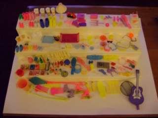 Vintage Barbie Kitchen Littles Food, Ken, Shoes, Accessories 170