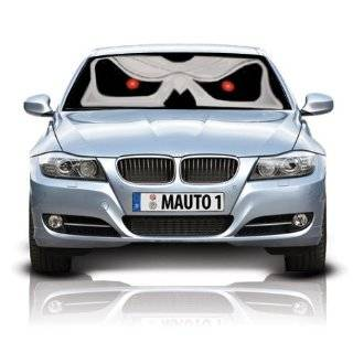 mAuto 3061 Pretty Pink Eyes Car Sun Shade, Reversible in