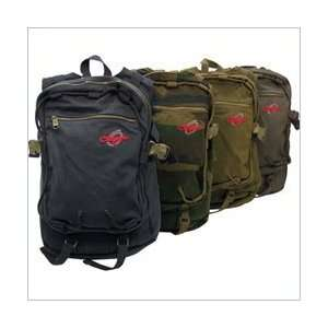 Army Olympia Cotton Canvas Buffalo Backpack Office Products