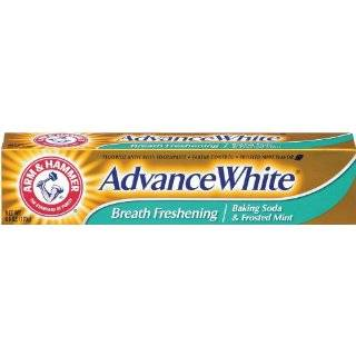 Arm & Hammer Advanced White Toothpaste, Dental Baking Soda