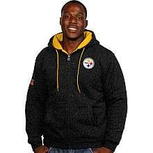 Pittsburgh Steelers Big & Tall Men's Fleece, Steelers Big & Tall Men
