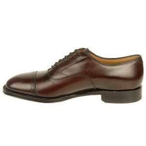 Johnston & Murphy Mens Aldrich II Cherry Leather Shoe 24 8565
