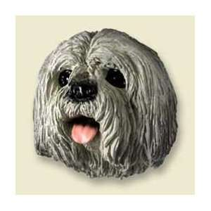Lhasa Apso Dog Magnet   Gray: Kitchen & Dining