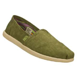 Womens Skechers Bobs World   Spectrum Olive Shoes
