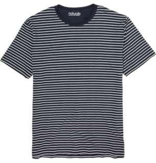 Naturally from Derek Rose Striped Lounge T shirt  MR PORTER