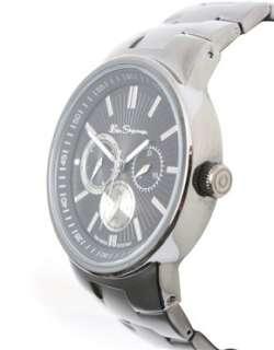 Ben Sherman  Ben Sherman Black Plated Bracelet Watch at