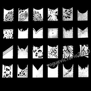 Nail Art Stamp Stamping Schablone mit 42 Motiven Image Plate CK 01