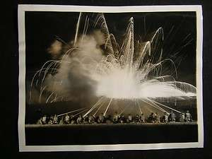 Fort Benning GA Machine Guns Tracer Bullets WW2 930H