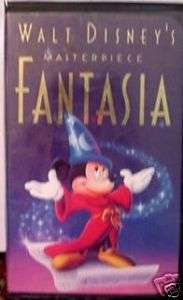 WALT DISNEYS FANTASIA Vhs Video~VGC~Only $2.75 To SHIP 717951132031