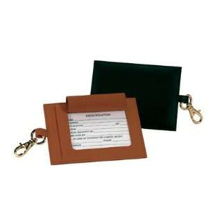 Royce Leather 953 6 Genuine Leather Big Tag (Set of 3