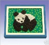PANDA Crunch Art Craft Kit  As seen on TV  Brand New