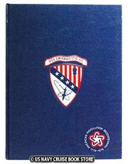 USS CHICAGO CG 11 WESTPAC CRUISE BOOK 1976