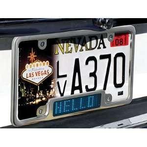 Programmable LED Car Plate Billboard (Blue LED