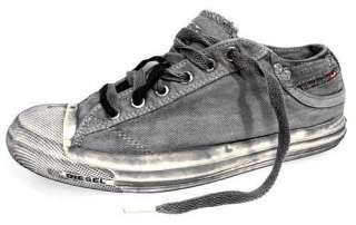 Diesel Magnete Exposure Gunmetal low Gr. 41 Sneaker Schuhe grau Canvas