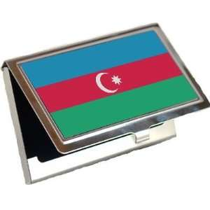 Azerbaijan Flag Business Card Holder Office Products