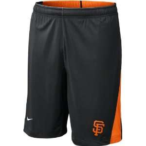 San Francisco Giants Black Nike Authentic Collection Dri FIT Training