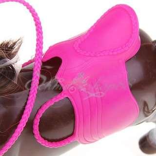 Barbie Dolls Ken Braun Pferd Pink Sattel Lange Mähne