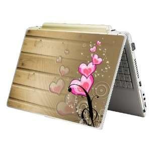 15   Fit HP Dell Asus Compaq   Pink Hearts
