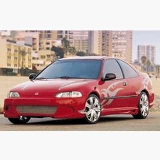 Honda Civic Erebuni Shogun Style 716 Full Body Kit Automotive
