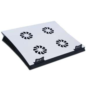 Laptop Cooling Pad with 4 Ports USB Hub, 4 Cooling Fan, Up to 17 inch