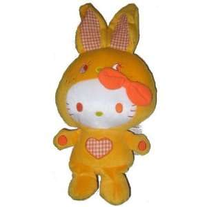 Hello Kitty Orange Bunny Plush FU2982 Toys & Games