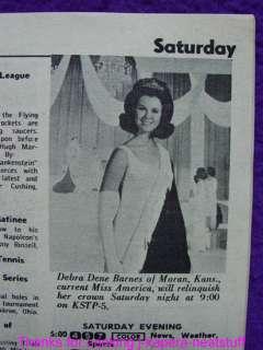 1968 Bert Parks and Debra Dene Barnes Miss America