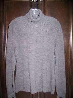 MARISA CHRISTINA Gray Italian Merino Wool Sweater NWT