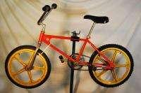 Vintage 1980s Team Murray bmx Bicycle Bike Orange Troxel Mag Wheels