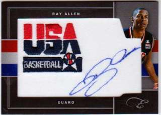Elite Black Box #7/10 USA Basketball Patches Signatures Auto SP