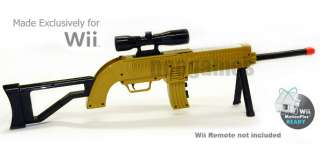 Special Ops Rifle Sniper Light Gun w/Scope for Call of Duty Wii