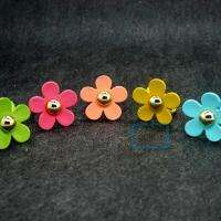 Fashion Cute lovely daisy flowers color Alloy Rings Ring