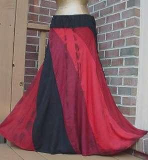 HIPPIE Boho Funky Tie Dye Maxi SKIRT New Long Skirt Bohemain