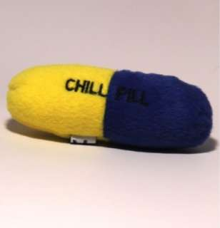 Loopies Chill Pill 4 Organic Catnip Plush Cat Toy 831285002775