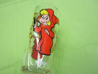 Cartoons WENDY WITCH CASPER THE FRIENDLY GHOST PEPSI GLASS CUP