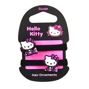 Hello Kitty Haargummi Set LITTLE EMO KITTY black  Spielzeug
