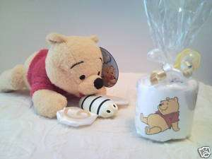 Pooh Diaper Cupcake Baby Shower Favors Boy Girl****