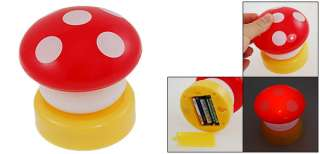 Red Shell Mushroom Press Down Touch Lamp LED Night Light Gift