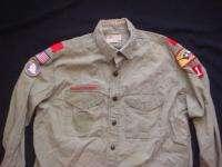 Early Vintage Boy Scouts Uniform Texas Longhorn Council