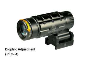 UTG 3X Magnifier with Innovative Flip to side Quick Detach Picatinny