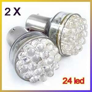 LED Car Tail Brake Rear White Light Bulb Lamp 12V 1073 1093 1129 1156