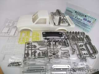 Tamiya Toyota Hilux High Lift Full Body Kit Cab Window Roll Bar Trim