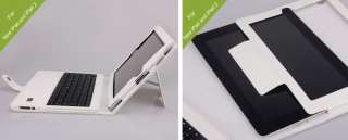 Bluetooth Keyboard & Leather Book Style Case iPad 3 iPad 2 ipad 1