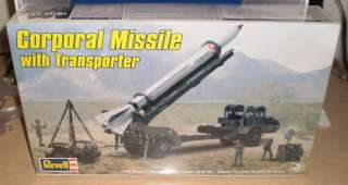Revell 140 Scale Model Corporal Missile with Transporter Kit NEW