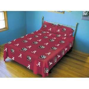 Alabama Crimson Tide LICENSED SHEET SET   NCAA