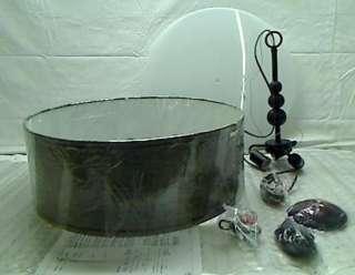 Home 91640ORB Margot 3 Light Pendant, Oil Rubbed Bronze Finish