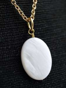 Dollar Shell Charm Pendant Necklace Gold Ocean Beach Chain om