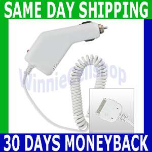 Plug in Auto Vehicle Car Kit Charger for Apple iPhone 4S 4 S Brand NEW